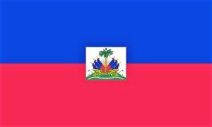 Die haitianische Flagge
