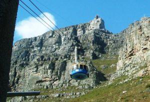 Gondel auf den Tafelberg. (Quelle: Andreas Wiese)