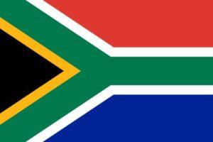Südafrikanische Fahne