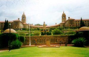 Regierungsgebäude in der Hauptstadt. (Quelle: Leonie Armingeon)