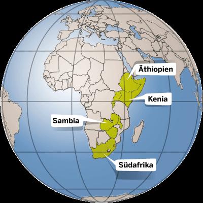 Länderinfos Afrika