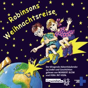 Cover der CD Robinsons Weihnachtsreise. (Quelle: Peter Laux)