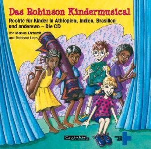 Cover des Robinson Kindermusicals. (Quelle: Peter Laux)
