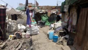 Hütten im Slum. (Quelle: Josephine Herschel)