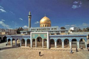Die Saiyida-Zainab-Moschee in Damaskus. (Quelle: Argooya/Wikimedia Commons)